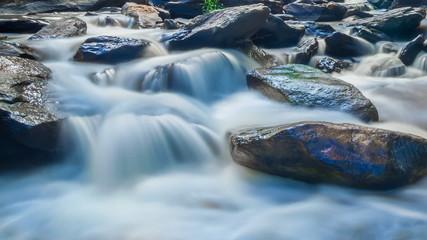 MAEYA Waterfall Famous Cascade Of Chiang Mai, Thailand