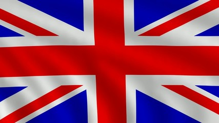 Flag of  United Kingdom of Great Britain