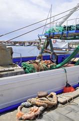 Acciaroli, Cilento - Campania, imbarcazioni da pesca