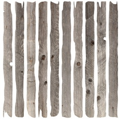 weathered old wood planks