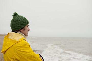 Pensive Sea Fisherman