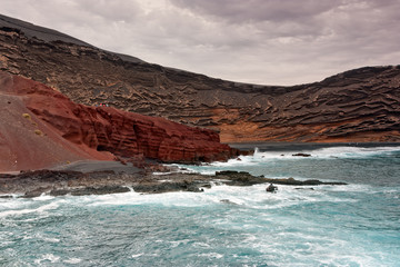 Volcanic coast of Lanzarote, Canary Islands