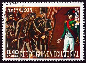 Postage stamp Equatorial Guinea 1972 Napoleon Bonaparte in Spain