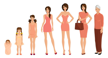 Generation woman set