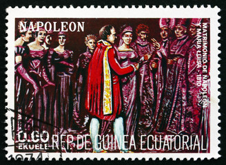 Postage stamp Equatorial Guinea 1972 Wedding of Napoleon