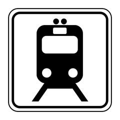 Logo tramway. Tram.
