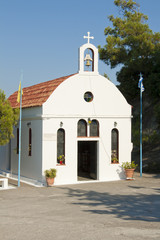 Small church on Rhodes
