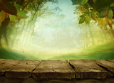 Fototapety Spring green background