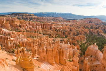 Beautiful rock formation in Bryce Canyon.