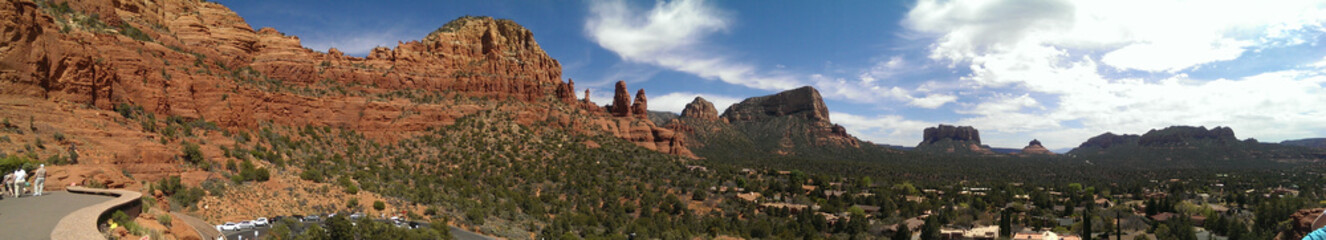 Red Rock panoramic