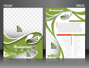 Restaurant & Hotel Flyer & Menu Card Template