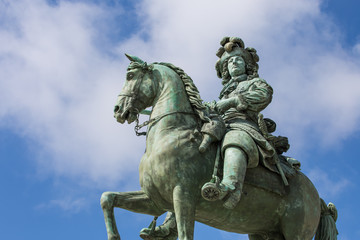 Louis XIV Sculpture in Versailles