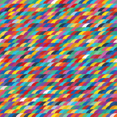 Seamless pattern colorful background