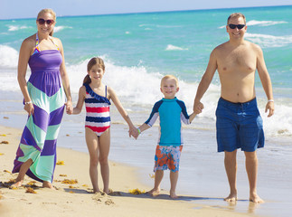 Family Vacation Fun at the Beach