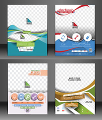 Set of Corporate Flyer & Poster Template