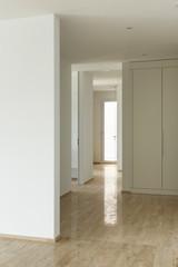 modern house, passage view