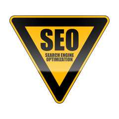 verkehrszeichen orange seo search engine optimization I