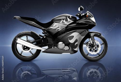 strzal-studio-czarny-motocykl