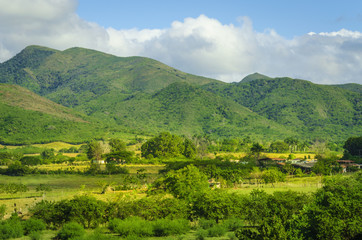 Valle de los Ingenios (Valley sugar mills) in Cuba