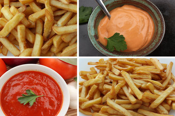 Frites - Sauces : Ketchup   Mayonnaise Barbecue