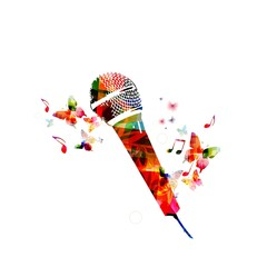 Colorful microphone design