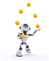 Robot juggling balls