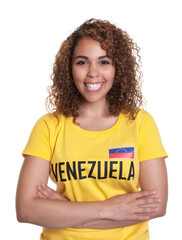 Young woman from Venezuela with crossed arms