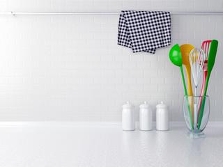 Colour utensils.