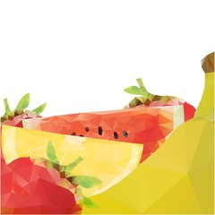 Polygonal fruits design