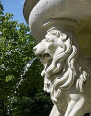 Brunnen Löwe