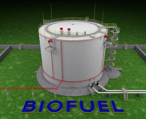 Biofuel storage tank
