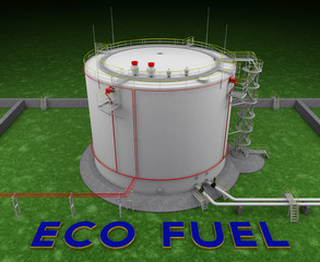 Eco fuel storage tank