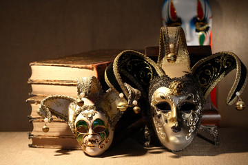 Books And Masks
