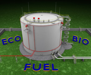 Eco Bio Fuel storage tank