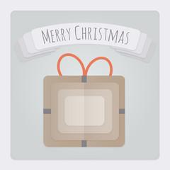 Present Christmas Card