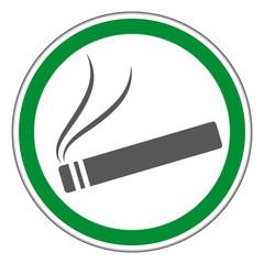 Schild, Rauchen erlaubt!