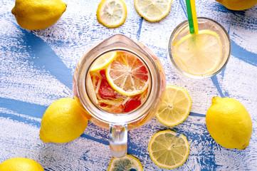Refreshing Homemade Ice Cold Strawberry Lemonade