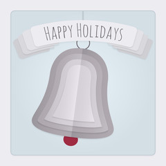Bell Holidays Card