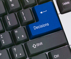 Hot key for decision