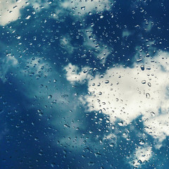 Raindrops & Clouds
