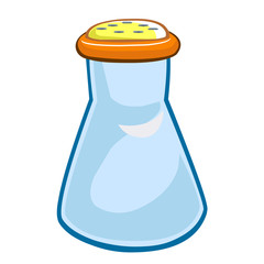 salt shaker isolated illustration