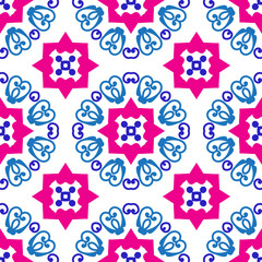Color seamless pattern