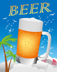 Beer illustration icon
