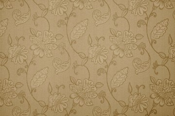 textured background with flower patterns
