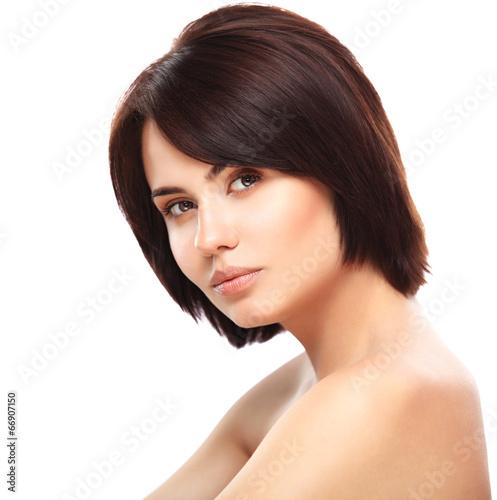 Beautiful Girl.Perfect Skin. Beauty Face. Professional Makeup