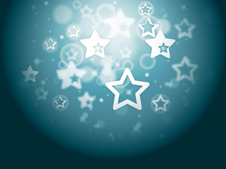 Stars Background Shows Glittery Wallpaper Or Twinkling Stars.