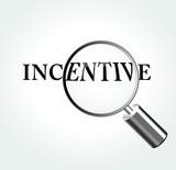 Vector incentive theme illustration poster