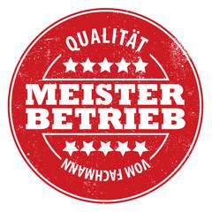 Meisterbetrieb! Qualität vom Fachmann!
