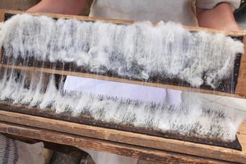 lavorazioni antiche della lana