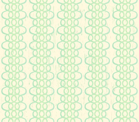 Calming grungy ivory seamless background with green laces